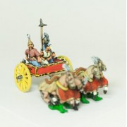 Shang or Chou Chinese: Four horse Heavy Chariot with General, driver and spearman