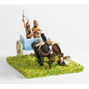 Mycenaean & Minoan Greek: Command: Two horse chariot with driver and General