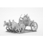 New Assyrian Empire: 4-horse heavy chariot with driver archer and two Javelinmen