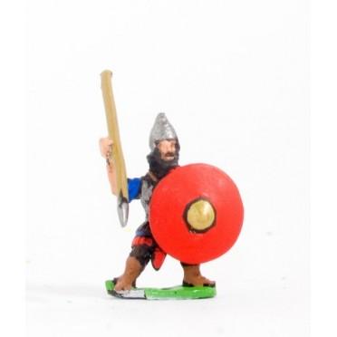 New Assyrian Empire: Heavy spearman round shield