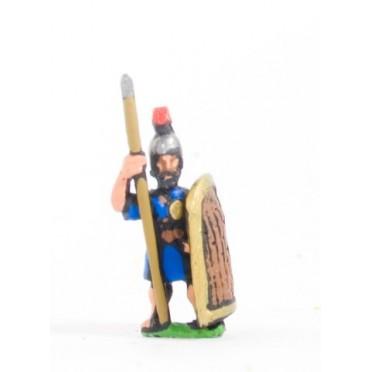 New Assyrian Empire: Medium spearman, long shield
