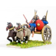 New Assyrian Empire: Cart with driver & 3 infantry