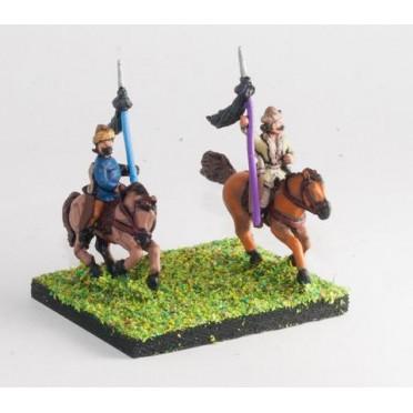 Hun: Command: 3 Mounted Standard Bearers