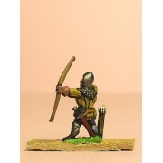 Late Medieval: Heavy Archer firing