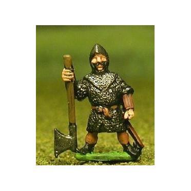 Late Medieval: Bonnachte or Gallowglass Medium / Heavy Axemen