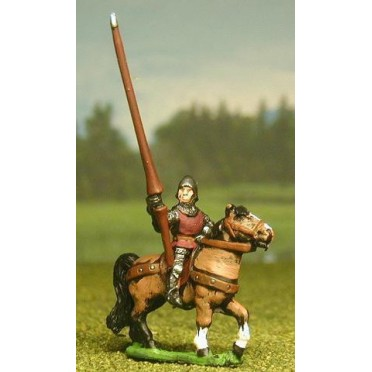 Late Medieval: Mounted Lesser Men At Arms / Curror (shieldless)