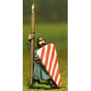 Late Medieval: Isleman / Galloglaich in Long Tunic with Kite Shield & Spear