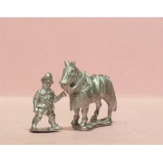 Early Renaissance: Two horseholders & four Armoured Horses