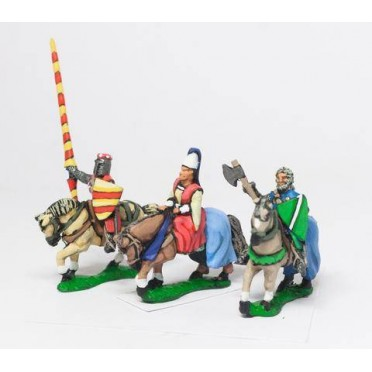 Command: Mounted Lady with two Bodyguards 1150-1300AD