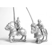Early Renaissance: Gendarmes in Sallets on Armoured Horse