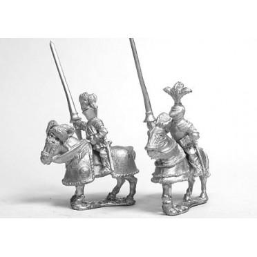 Early Renaissance: Gendarmes on Armoured Horse