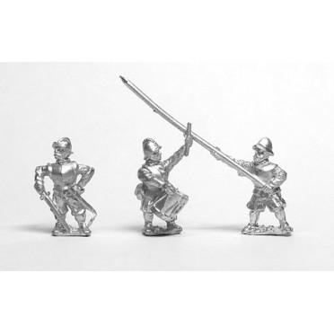 Renaissance 1520-1580AD: Command: Officers, Standard bearers & Drummer