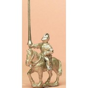 Renaissance 1520-1580AD: Mounted Men at Arms in Closed Helmets with Lance