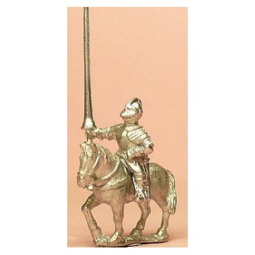 Renaissance 1520-1580AD: Mounted Men at Arms in Closed Helmets with Lance & 2 Pistols