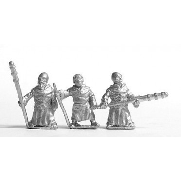 Warrior Monks, stationary
