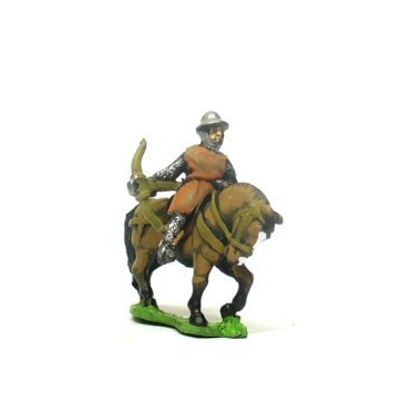 Mounted Crossbowmen in Kettle Helm & Mail Coat