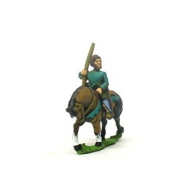 Mounted Light Bowmen, bare heads