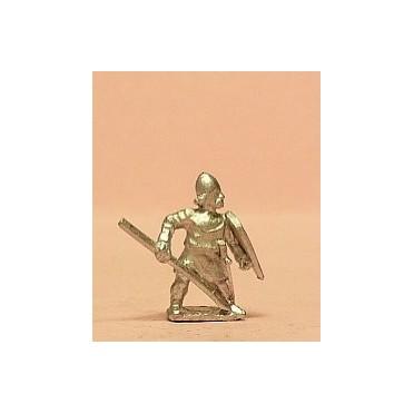Light / Medium Spearmen with Kite Shield & pointed helms