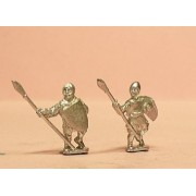 Medium Spearmen with Quilted Coat & Large Shield
