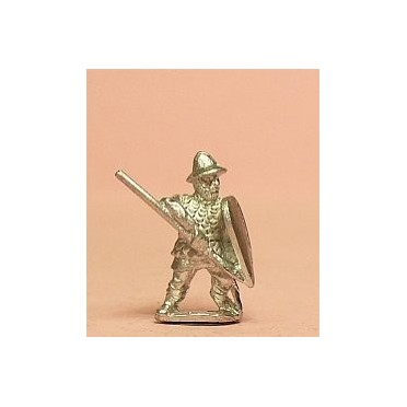 Heavy Spearmen with Kite Shield, in Scale Corselet & Kettle Helm