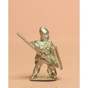 Heavy Spearmen with Large SHield, in Scale Corselet & Pointed Helm