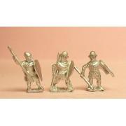 Light / Medium Spearmen, various dress, kite shields
