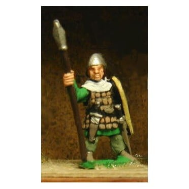 Light / Medium Spearmen, various dress, large shields