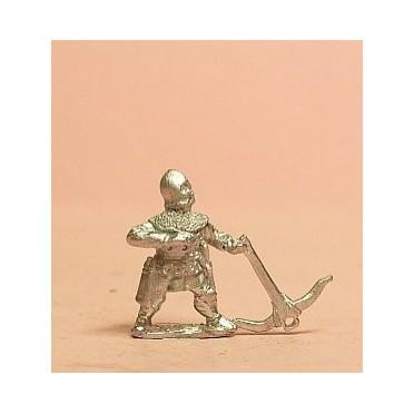 Medium Crossbowman in Barbute helm