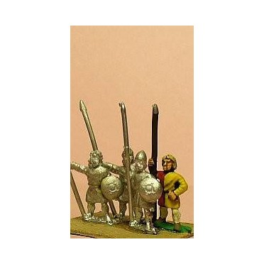 Spanish: Light / Medium Long Spearmen with Small Round Shield (Scots)