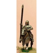 LaterSpanish: Knights 1400-1420 in Plate Armour with Lance, on Armoured Horse