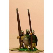 LaterSpanish: Spearmen with Convex Almond Shield