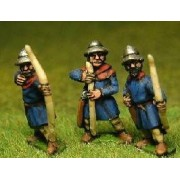 LaterSpanish: Archers in Kettle Helms