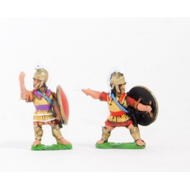 Macedonian, Greek or Thracian: Command: Foot Officers