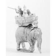 Later Hoplite Greek: Elephant and driver with General and spearman in howdah