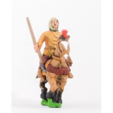 Later Hoplite Greek: Bactrian or Sogidan Light Cavalry with javelin & bow