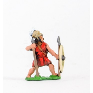 Thracian: Peltast with Javelin & shield