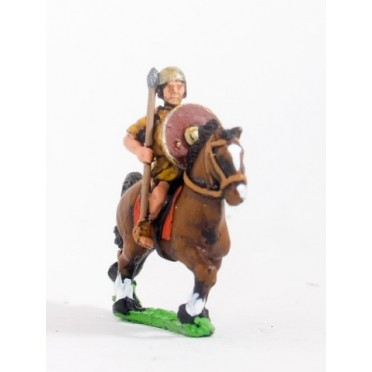 Spanish: Medium cavalry with javelin & round shield
