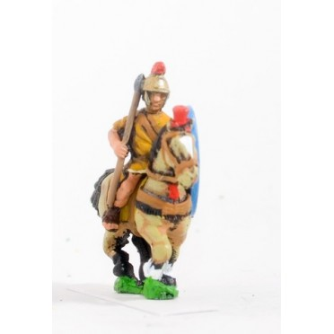 Spanish: Medium cavalry with javelin & oval shield