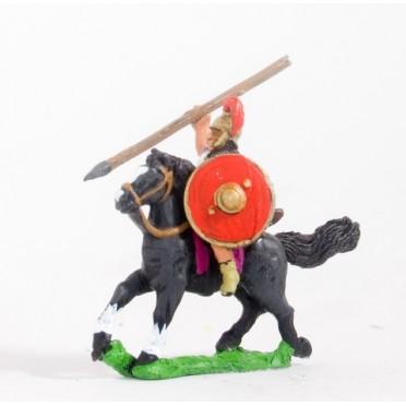 Spanish: Heavy cavalry with javelin & round shield