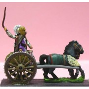 Achaemenid Persian: General & driver in two horse light chariot