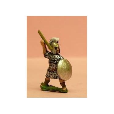 Achaemenid Persian: Phoenician marine with javelin & shield