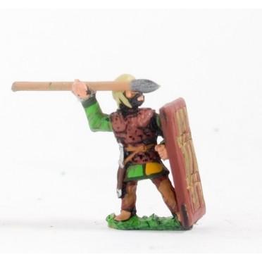 Achaemenid Persian: Amrtaka (Immortal) Heavy Infantry with javelin & pavise
