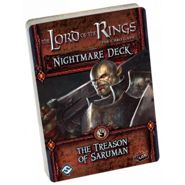 Lord of the Rings LCG - The Treason of Saruman Nightmare Deck