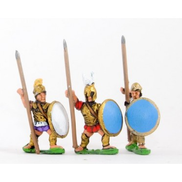 Etruscan: Hoplites with spear & shield