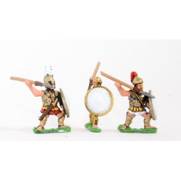 Etruscan: Hoplites with pilum & shield