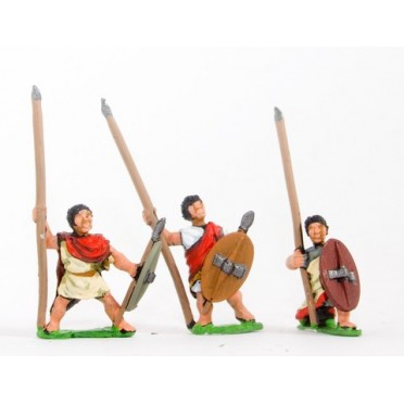 Maccabean Jewish: Infantry with long thrusting spear, javelins and shield