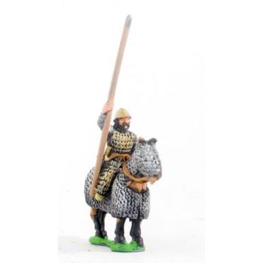 Maccabean Jewish: Later Saka Lancer on fully armoured horse
