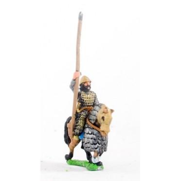 Maccabean Jewish: Later Saka Lancer on half armoured horse