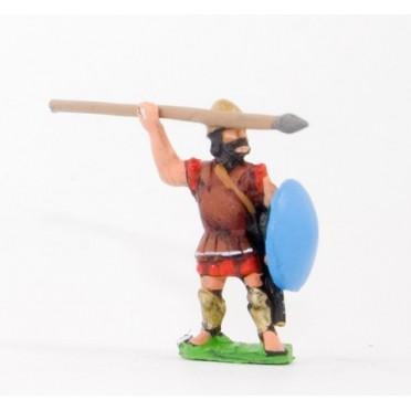 Later Hoplite Greek: Spartan Hoplites Pilos helmet