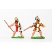 Later Hoplite Greek: Peltasts